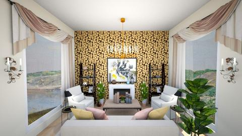Honeycomb room - Living room  - by guinealove4