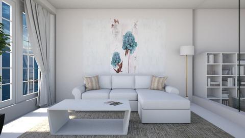 A Minimalist Living Room - by jafta