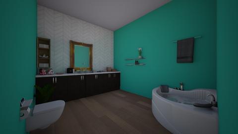 bathroom raven - by raven1223433