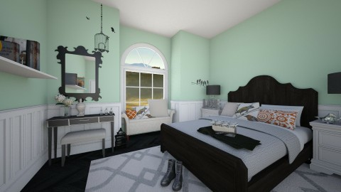 girly girl - Country - Bedroom  - by megalia42