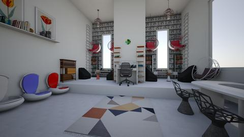 library - by cheney interior design