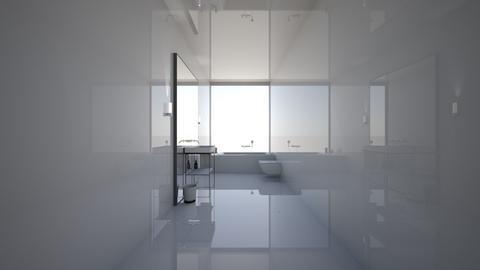 Minimalist Bathroom  - Minimal - Bathroom  - by Callmekai22