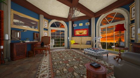 old dream - Eclectic - Office  - by donella