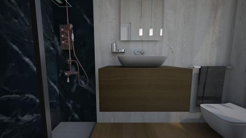 Cologno bagno ospiti16 - Bathroom - by natanibelung