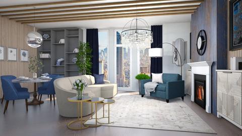 kmnh - Living room  - by iraa
