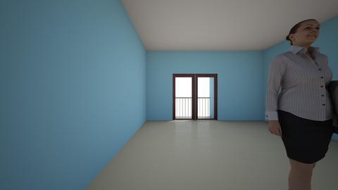habitacion OC - Modern - Bedroom  - by meredythmiranda595