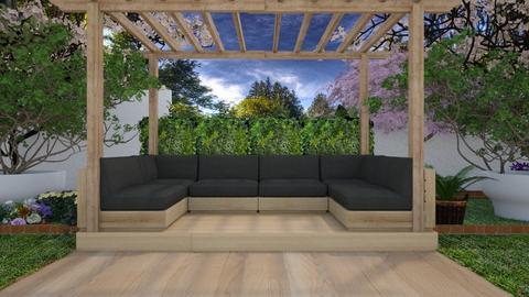 Oasis - Garden  - by nellica