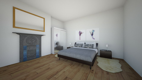 simple  - Bedroom - by bethcot