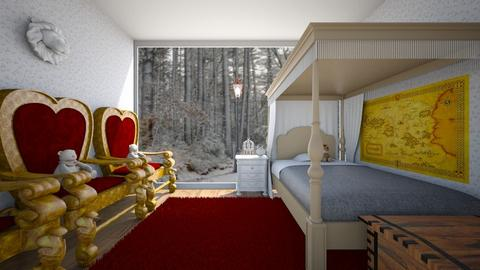 Dreaming of Narnia - Bedroom  - by SammyJPili
