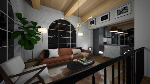 loft apartment - Living room  - by willhenning