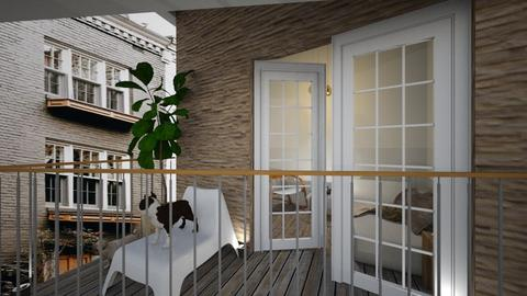 Casa232Balcony - Eclectic - Garden  - by nickynunes