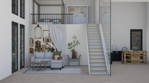 Loft space  - Living room  - by daisy_belle