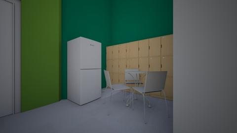 Back office - Minimal - Office - by mgangles