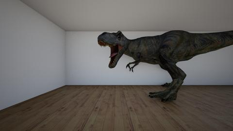 Dino - Modern - Kids room  - by midnightspotlight