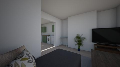 The flat  - Modern - Living room  - by tanja_christensen