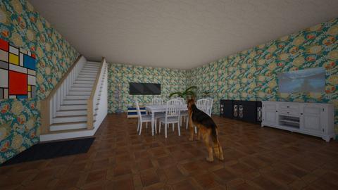 The Lame Living Room - Living room - by grade3koscar