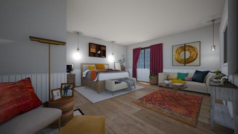 bhrainbow - Bedroom - by dena15