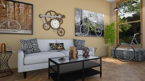 Playful Living Room  - Living room - by Tzed Design