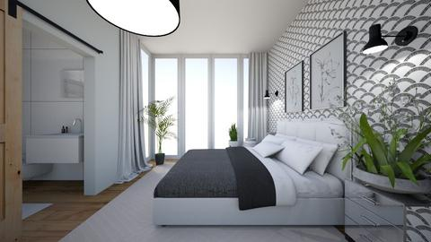 sypialnia - Bedroom  - by SA_Karpinska