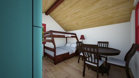 Tiny Cabin 8 - Bedroom  - by SammyJPili