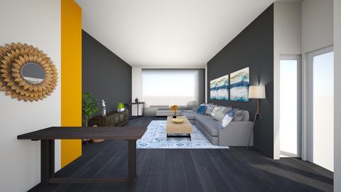 livingroom greyection - Living room  - by lilsrox05