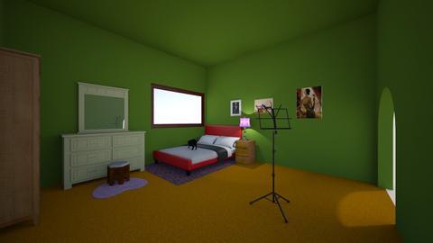 not lisa simpsons room - Bedroom  - by ryanstewart2003