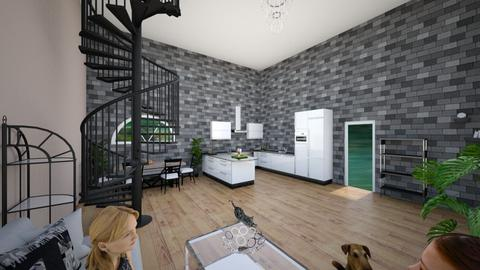 idk - Living room  - by Georgieva12