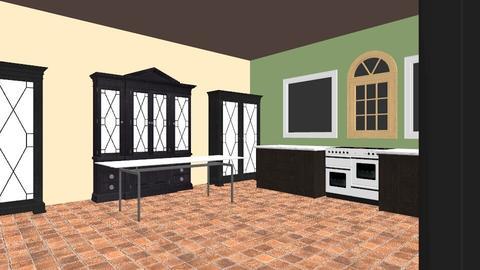 kitchen - by xavierwold