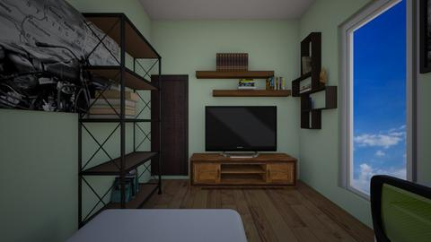 project3a - Modern - Living room  - by digitalblue
