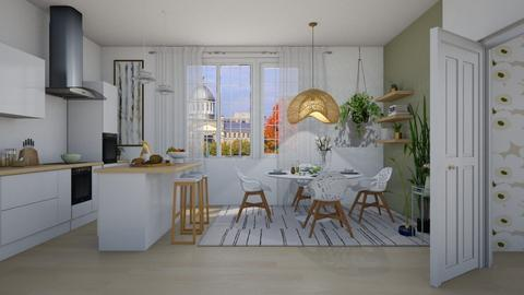 Scandi Dining - Classic - Dining room  - by janip