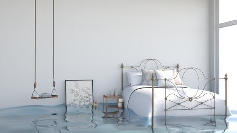 Flooded H A Z E L - Bedroom  - by itsbinflooded