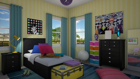 Dream - Kids room  - by GraceKathryn