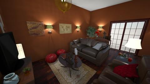 Otoman - Glamour - Living room  - by tena9