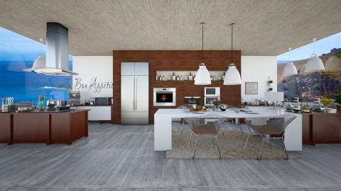 kitchen1 - Modern - Kitchen  - by Mihailovikj Mimi