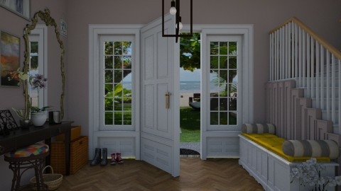 Entrance hall - Eclectic - by Brubs Schmitt