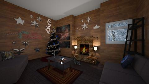 Cozy Christmas - Living room - by MatthewWilliard41