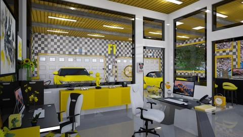 Auto Shop Office  - Office  - by Amyz625