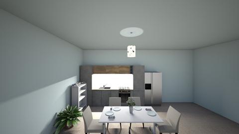 Romantic dinner room - by Salvadorena1
