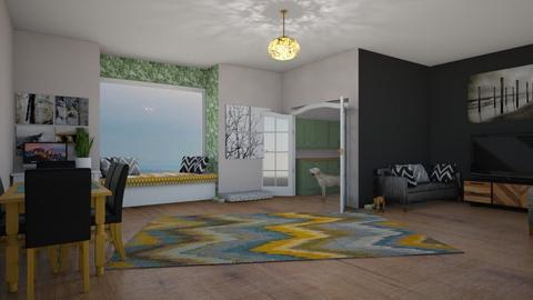 ChichiAsr s Room - Modern - Living room  - by Pheebs09
