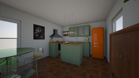 4 - Kitchen  - by Streepje