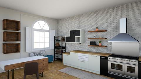 Scandinavian Kitchen - Eclectic - Kitchen  - by aubriconradt820