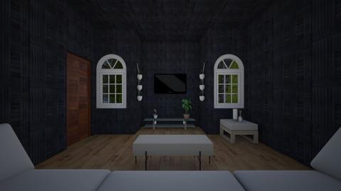 black charge room - Modern - Living room  - by zottekokodesigner