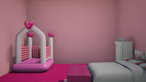 little girls dream room - Glamour - Kids room  - by Evies07