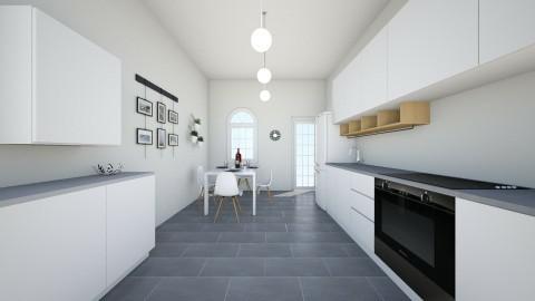k - Minimal - Kitchen - by jackmunda