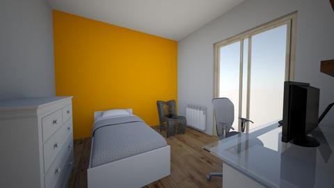 Habitaciomeva12puntodos - Modern - Bedroom  - by Xacreacio