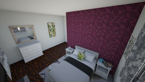 Accent Wall - Bedroom - by interiordesignmajor013