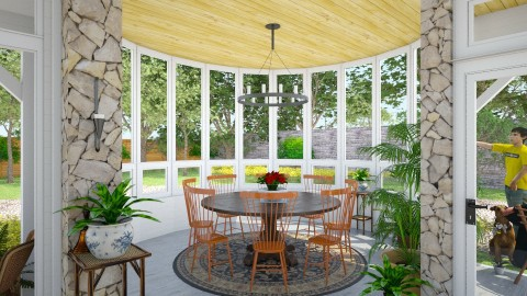 Marlboro Dining - Eclectic - Dining room  - by russ