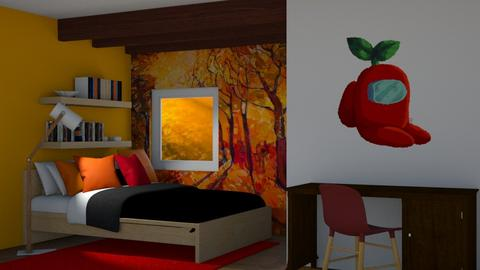Warm colors - Bedroom  - by Norbosa