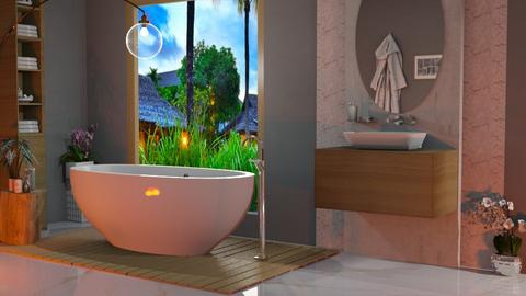 bath with view - Bathroom  - by snjeskasmjeska