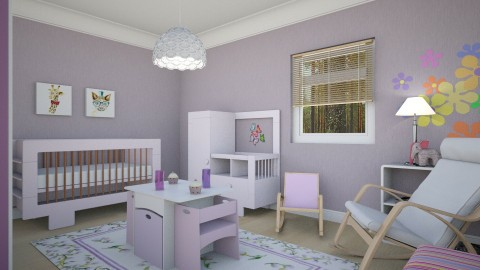For Kristelkowski s Girl - Eclectic - Kids room  - by Theadora